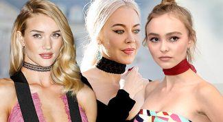 Чокер - модное украшение и оберег