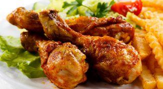 Как приготовить куриные голени в маринаде из томата, меда и соевого соуса