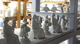 Как делают фарфоровые статуэтки