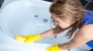 Делаем ванну белоснежной проверенным способом