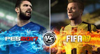 Что выбрать FIFA 17 или PES 17