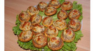 Фаршированные сушки - оригинальная и вкусная закуска