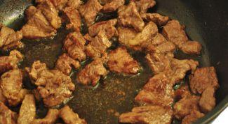 Как зажарить мясо вкусным и сочным