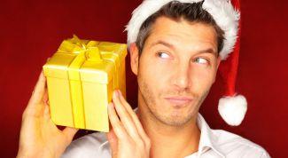Что не нужно дарить мужчинам на Новый год