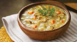 Как варить суп из замороженных грибов