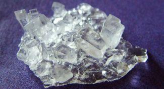 вырастить кристалл в домашних условиях из соли