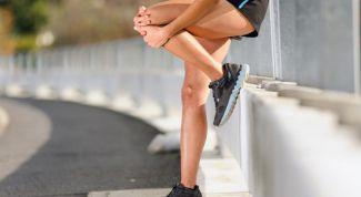 Как вылечить ушиб колена