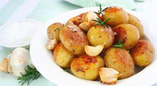 Как запечь картошку в духовке
