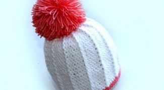 How to make a pompom on a hat