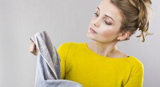 Как вывести с одежды старое жирное пятно