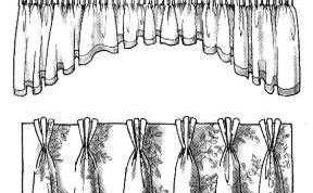Как пришить шторную ленту на тюль