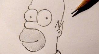 Как нарисовать Гомера Симпсона?