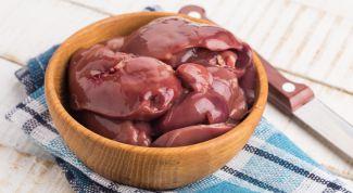 Свиная печень:  четыре простых  рецепта