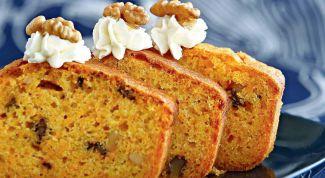 Морковный кекс: экономичная и вкусная выпечка