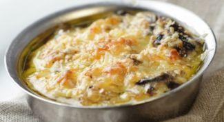 Как приготовить простой жульен с курицей и грибами