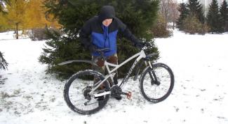 Как подготовить велосипед к зимней поездке
