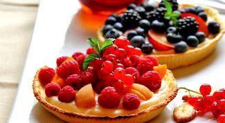 Как приготовить мини-пироги с кремом Шантильи