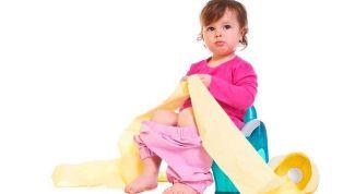 Запоры у детей: причины и лечение в домашних условиях