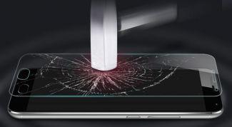 Достоинства и недостатки защитного стекла для экрана смартфона