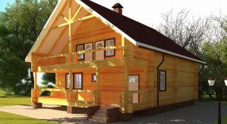 Как строится сруб дома из бревна