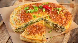 Как приготовить заливной пирог на кефире