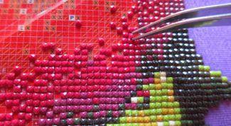 Особенности и техника выполнения алмазной вышивки