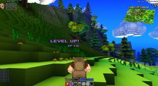 Обзор игры Cube World
