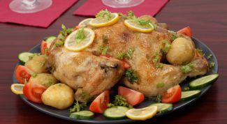 Как приготовить курицу, фаршированную разными начинками