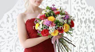 Как заказать доставку цветов