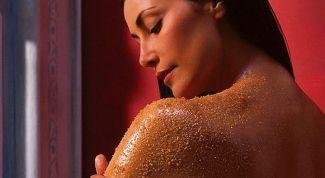 Домашние скрабы для сухой кожи тела