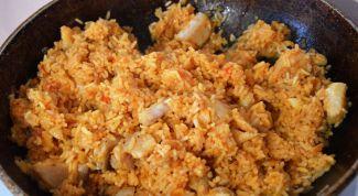 Как приготовить рис с рыбой по-португальски