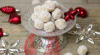 Как приготовить кокосовые конфеты дома