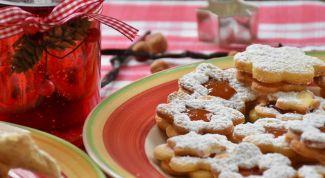 Как приготовить праздничное печенье