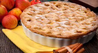 Как приготовить яблочный пирог без муки