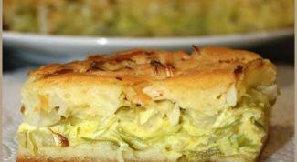 Как быстро и вкусно сделать заливной пирог с капустой