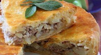 Как просто приготовить ленивый пирог с мясом