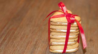 Хрустящее печенье с кремом
