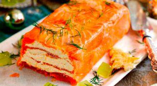 Как приготовить закуску с красной рыбой