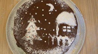 Как сделать торт «Чародейка» украшением новогоднего стола