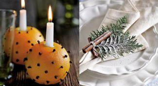 5 идей украшения новогодних свечей вкусняшками