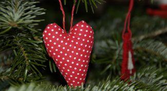 Как сделать сердечки-тильда