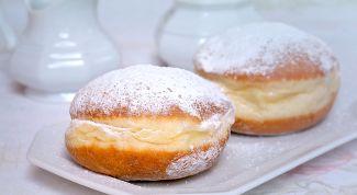 Как приготовить пончики берлинеры