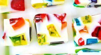 Как сделать необычный десерт - самоцвет
