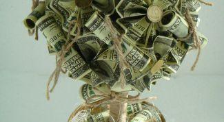 Как сделать денежное дерево своими руками