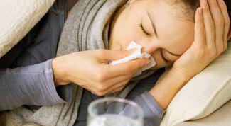Как удалить первые признаки простуды