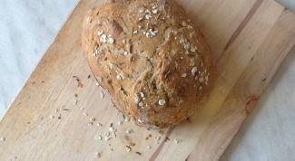 Как сделать вкусный бездрожжевой хлеб