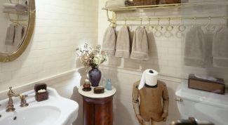 Где хранить полотенца в ванной