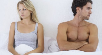How to tell the man that his affection don't excite