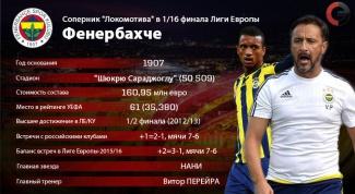 Лига Европы 2015-2016: обзор матча Фенербахче - Локомотив