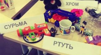 Детские игрушки - безопасность прежде всего!